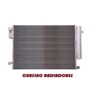 Condensador Ar Fiat Fiorino Grand Siena Palio Strada Valeo