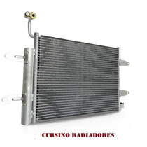 Condensador Ar G5 / G6 - Polo / Fox / Gol / Saveiro / Voyage