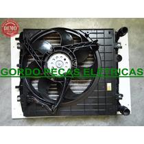 Radiador + Defletor + Motor Da Ventoinha Fox 1.0 2004/ 2005