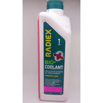 Aditivo Radiex Radiador Bio Coolant Rosa Pronto Uso Organico