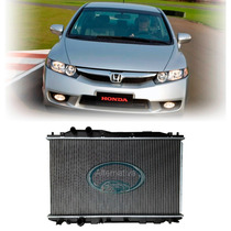 Radiador New Civic 2007 2008 2009 2010 2011 1.8 16v Aut/mec