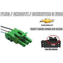 Conector/chicote/plug Sensor Map Kadett Monza Corsa S10