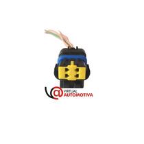 Soquete Plug Conector Sensor Temperatura: Palio,siena, Marea