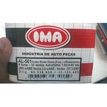 Cubo De Roda Dianteiro Astra / Zafira / Vectra S/ Abs Al501
