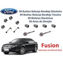 Kit Buchas Bieletas Axiais Fusion 10/12 1ª Linha