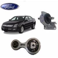 Coxim Motor E Calço Cambio Ford Fusion 2.3 16v 2006 A 2010 !