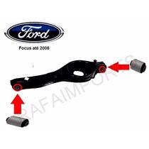 Par Bucha Bandeja Traseira Ford Focus 2.0 16v Duratec Novas