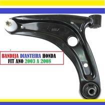 Balança Dianteira Completa Honda Fit 2003 A 2008 Tds Nova
