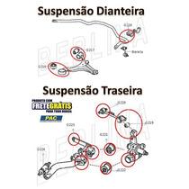 Frete Gratis Kit Bucha Susp Dianteira E Traseira Civic 01/06