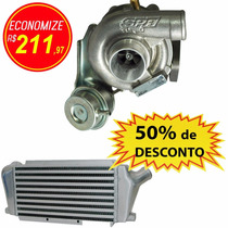 Turbina Gol 1.0 16v Turbo + Intercooler Reforçado