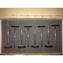 8 Valvulas De Titanio Admissão E Escape Diversos Modelos