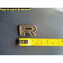 Letra R De Metal Do Emblema Ford, Não Sei Se É De Corcel