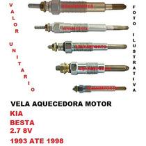 Vela Aquecedora Kia Besta 2.7 8v Diesel 1993 Ate 1998