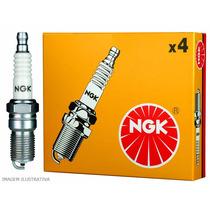Jogo 8 Velas Ignição Ngk Bkr6e-11d Honda Fit 1.4 2003 A 2008