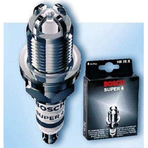 Jogo Vela Bosch Super4 P/ Clio 1.6 16v Hi Flex