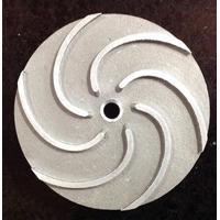 Rotor Alumínio Para Bomba Famac F1-1/3cv Rosca 7/16