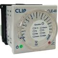 Rele Eletrônico Retardo/pulso 0,1seg A 100h 48x48mm Painel