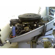 Motor De Popa Evinrude 15 Hp Para Reparar No Estado