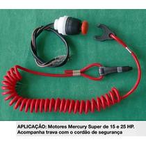 Botão Emergência Desligamento Motor De Popa Mercury M505