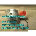 Kit Pistão Motor De Popa Suzuki 25 Hp / Suzuki 30 Hp