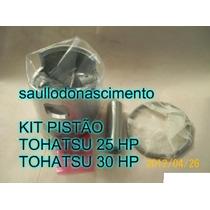 Kit Pistão Tohatsu 25 Hp E Tohatsu 30 Hp
