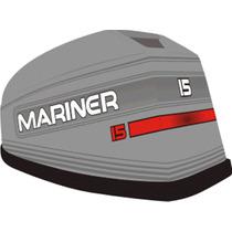 Adesivo Motor De Popa Mariner 15 Hp