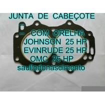 Junta Do Cabeçote Motor De Popa Johnson Evinrude 25 Frete Gr