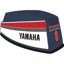 Adesivo Motor De Popa Yamaha 8 Hp 80/87