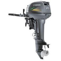 Motor De Popa Yamaha 15 Hp Mod. Gmhs Tenho Barco Lancha 2015