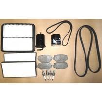 Kit Revisão Tracker Gasolina -filtros Correias Pastilha Vela