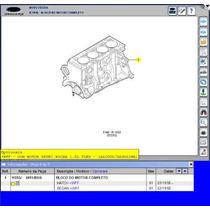 Motor Parcial Zetec 1.6 Flex Bloco Pistão Anéis Virabrequim