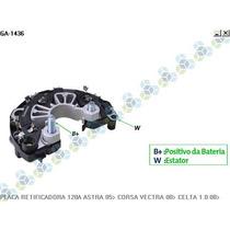 Placa Retificadora Gm Astra 1.8 2.0 05/... 120a - Gauss