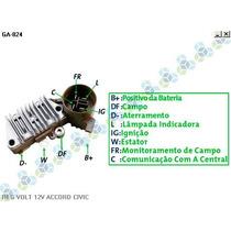 Regulador De Voltagem Honda Civic 14v - Gauss