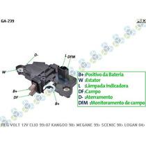 Regulador Voltagem Renault Clio Ii 99/07 - Gauss