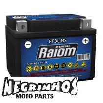 Bateria Raiom Selada Titan 125 Ano200 T3l.bs Negrinhos Moto