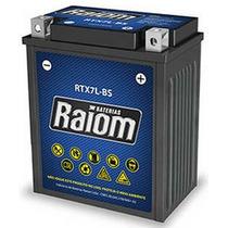 Bateria Moto Rtx7l-bs 6ah Twister, Intruder, Cg 150, Nx 125