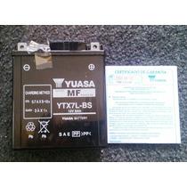 Bateria Yuasa Ytx7l-bs Falcon/twister/tornado/fazer/cb 300