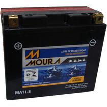 Bateria Moto Moura 11ah Yt12b-bs Ma11-e Gt 1000 Fazer 600 R1
