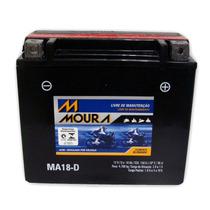 Bateria Moto Moura 18ah 12v Ytx20l-bs Harley Dyna Sportster