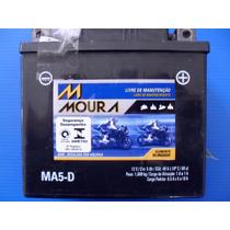 Bateria Moura Honda Biz 125 2009/2015 Es/ex Injetada