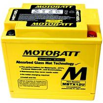 Bateria Gel Motobatt Mbtx12u 14,0ah Harley Davidson Xlh 883