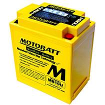 Bateria De Gel Motobatt Mb10u 14,5ah Yamaha Xv250 Virago