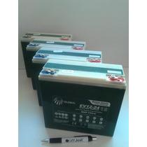 Kit 4 Bateria Gel Global 48v 24ah Ciclo Profundo 6-dzm-20