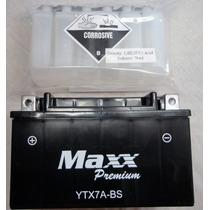 Bateria Maxx Ytx7a-bs Burgman /xlr/ Vz400 / Sundown Future