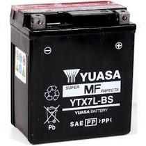 Bateria Yuasa Ytx7l-bs Para Cb300 Cbx250 Twister Nx4 Falcon