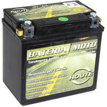 Bateria Moto Honda Nxr 125 Bros Ks 2003 Ate 2005 - 5 Ampéres