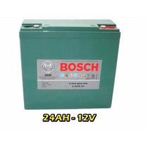 Kit 5 Baterias Moto Elétrica 12v 24ah 6dzm20 Bosch