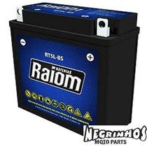 Bateria Raiom Crypton Rt5 Lbs Negrinhos Moto