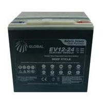 Bateria Chumbo 12v 24ah Bike Elétrica Ups Moto Elétrica