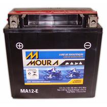 Bateria Moto Moura Ma12-e Honda Shadow Vt 750
